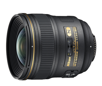 24 mm lense