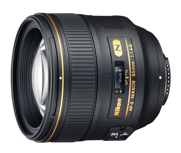 85 mm lense