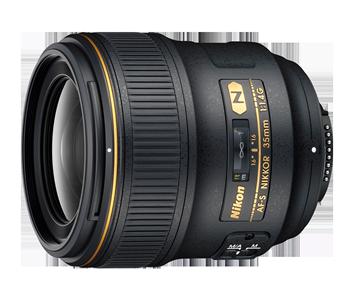 35 mm lense