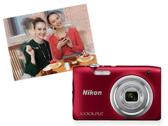 nikon coolpix compact camera a100 motion blur reduction original call 0711477775 or 0711114001