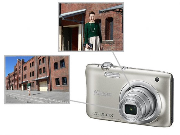 nikon coolpix compact camera a100 optical zoom lens original call 0711477775 or 0711114001