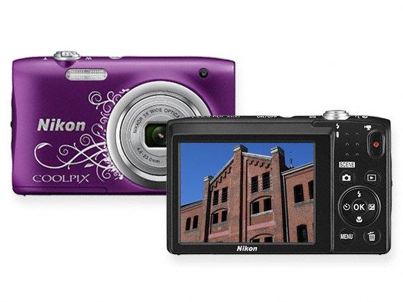 nikon coolpix compact camera a100 stylish design original call 0711477775 or 0711114001