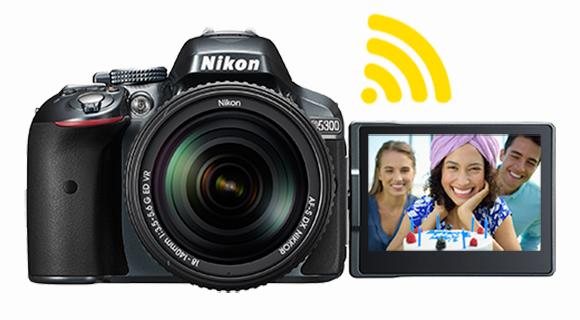 Amazon.com : Nikon D5300 24.2 MP CMOS Digital SLR Camera with ...