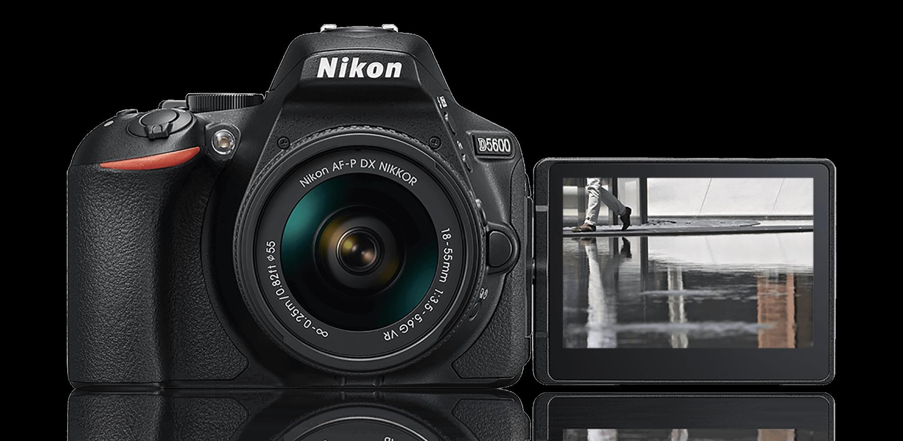 Kết quả hình ảnh cho Nikon  D5600