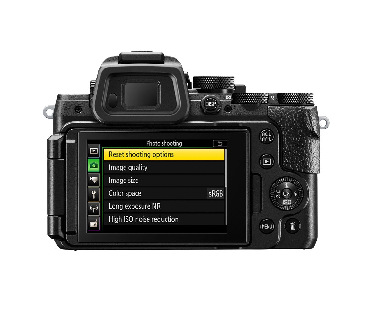 A true Nikon: familiar DSLR-like control