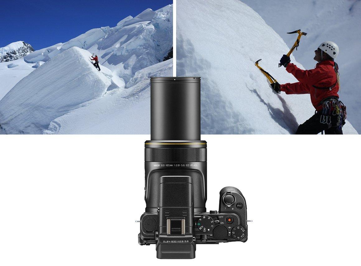 Legendary NIKKOR optics: edge-to-edge sharpness throughout the zoom range